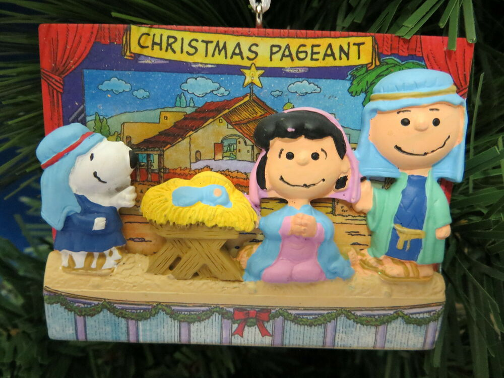 Charlie Brown Christmas Ornaments Hallmark