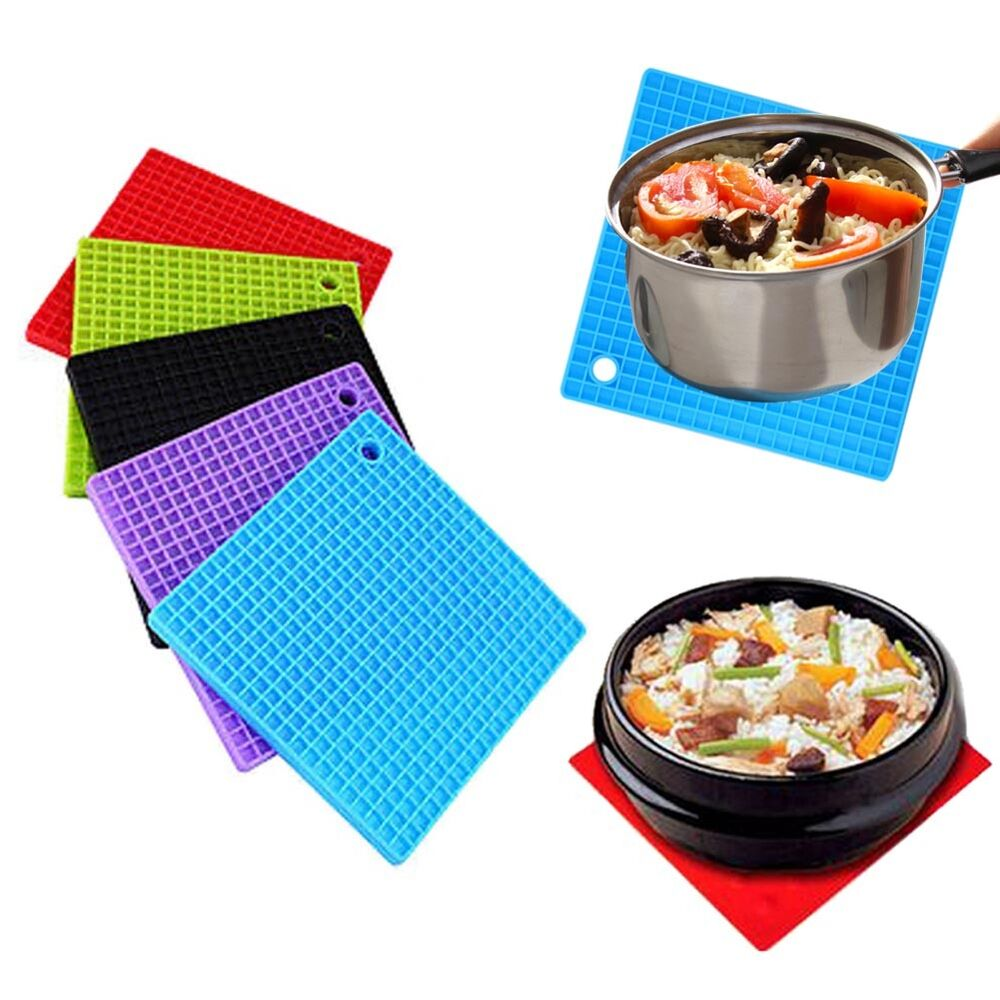 Silicone Pot Holder Cup Coaster Mat Pan Non slip Heat  : s l1000 from www.ebay.co.uk size 1000 x 1000 jpeg 109kB