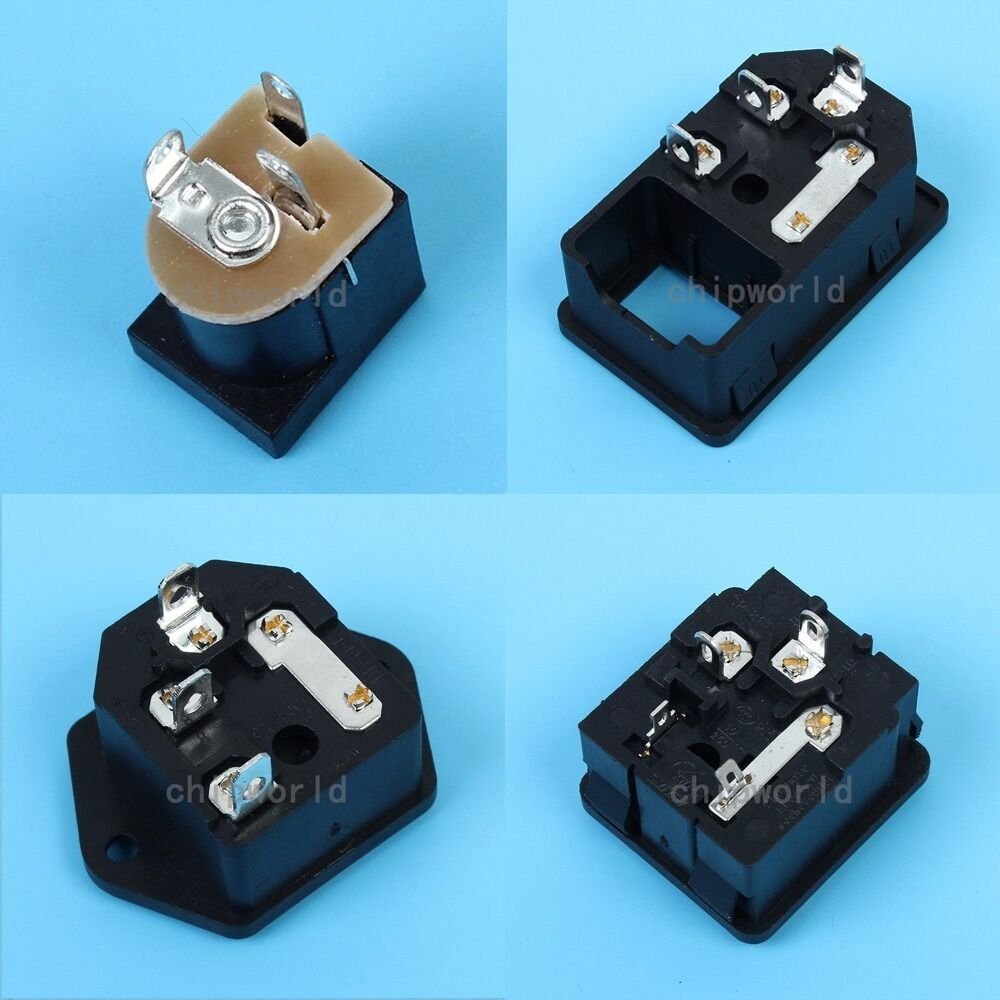 lamp plug in fuse box broken fuse in fuse box 5/10pcs ac/dc power inlet socket jack plug panel ...
