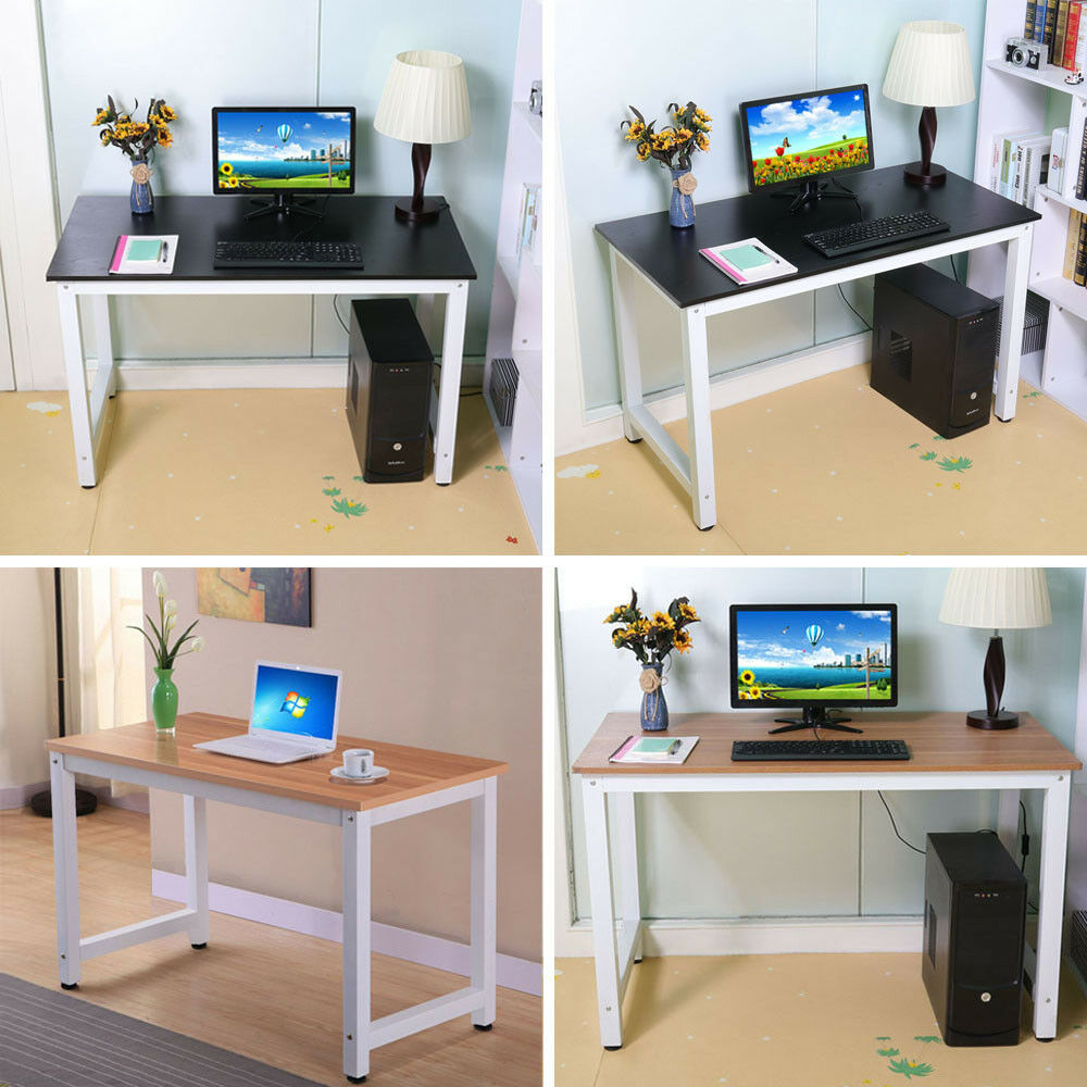 Home Furnisher: Computer Desk PC Laptop Table Wood Workstation Study Home