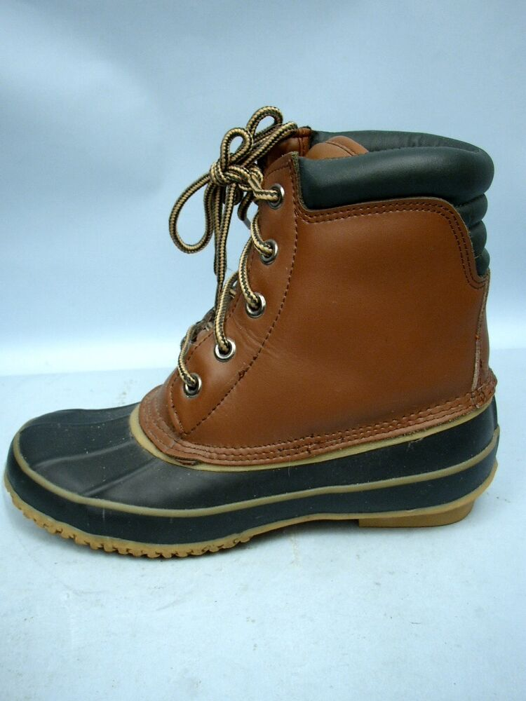 Men S Thinsolate Duck Boots Size 6 Ebay