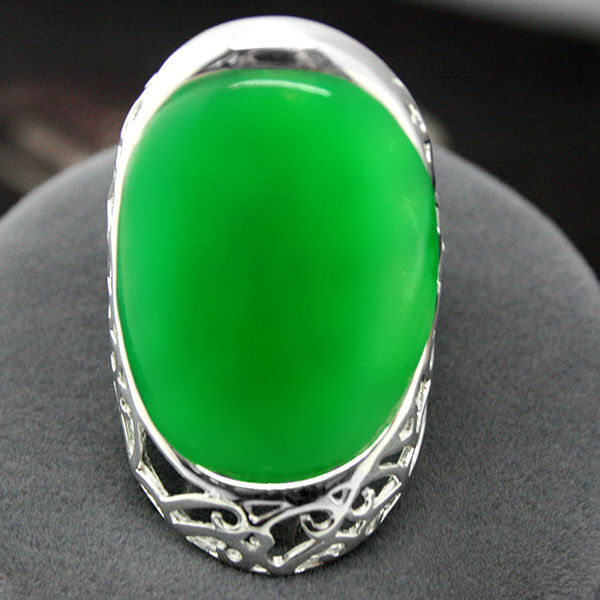 Mens Gemstone Band Ring