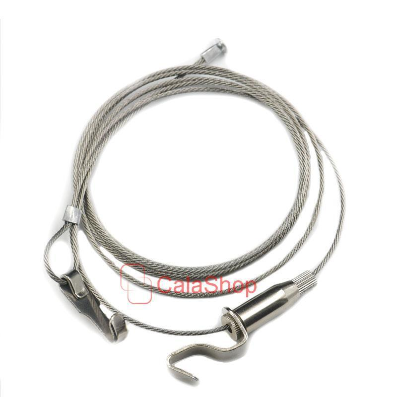 Frames Hanger Hook Picture Wire Cable With Hanging 2m Kit