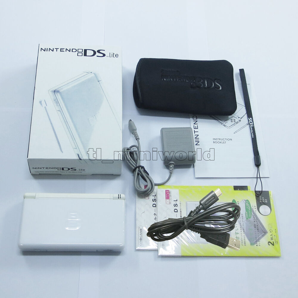 Brand new pure white nintendo ds lite handheld console system gifts 4902370509892 ebay - List of nintendo ds consoles ...