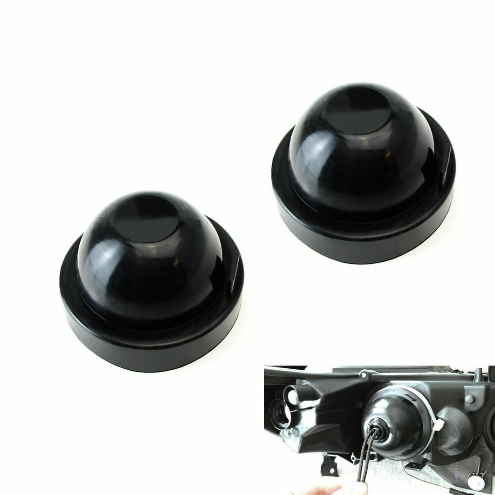 90mm Rubber Housing Seal Caps For Headlight Install Hid