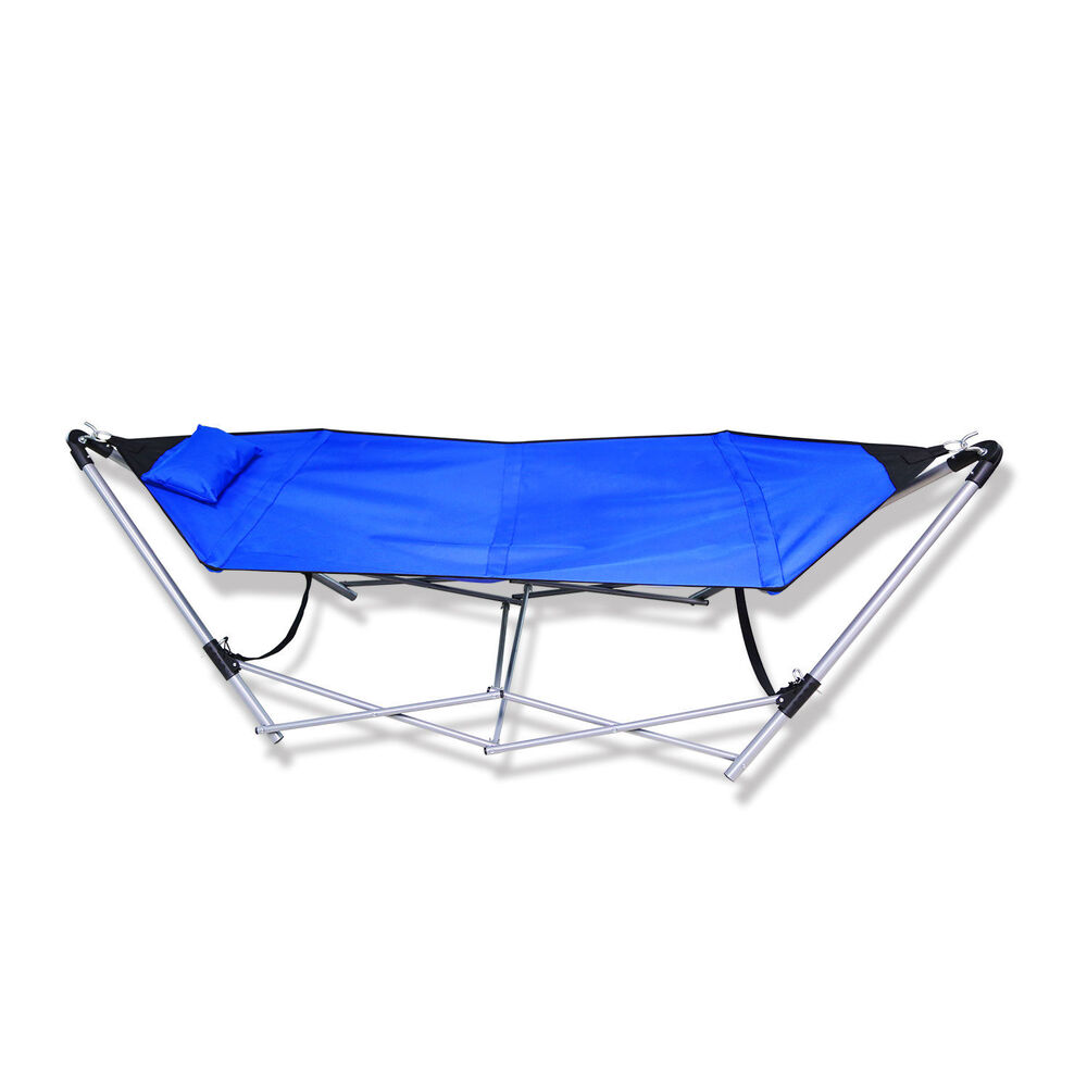 Comfortable Portable Folding Porch Camping Hammock Lounge ...
