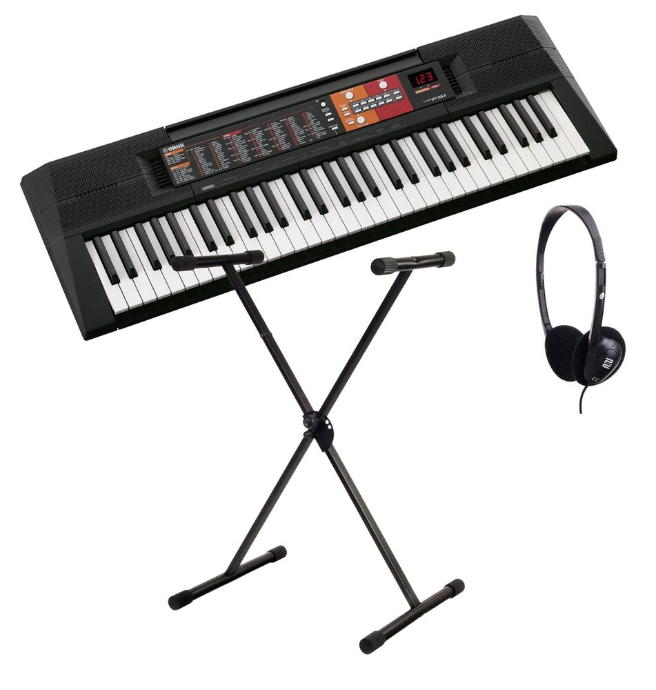 yamaha psr f51 keyboard 61 tasten begleitautomatik. Black Bedroom Furniture Sets. Home Design Ideas