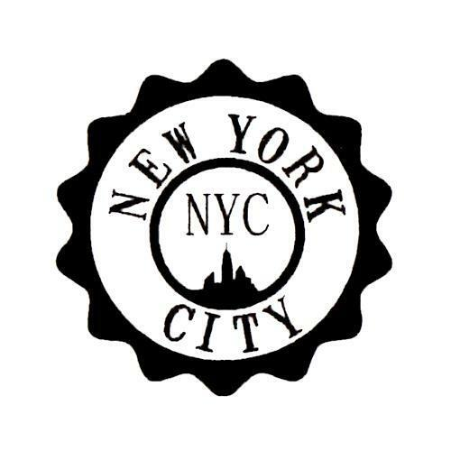 New York City Seal Unmounted Rubber Stamp Nyc Travel Journal Stamp