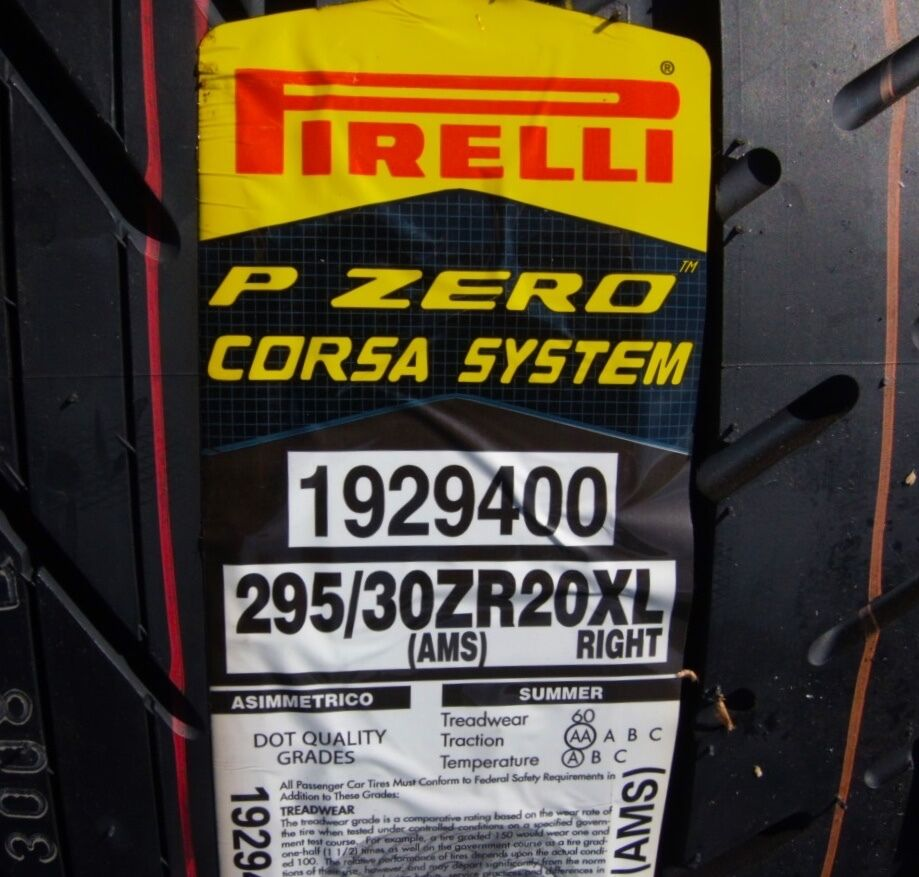 New Pirelli P Zero Pzero Corsa System Right 295 30r20 295