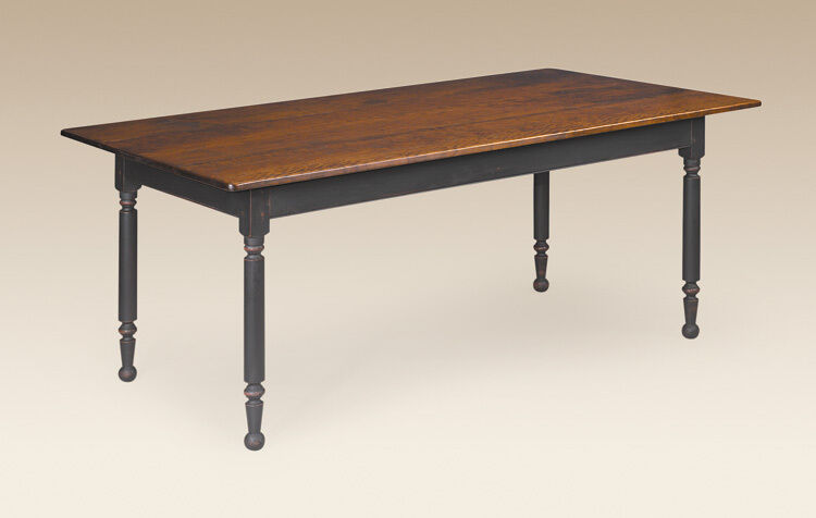 Country Solid Wood Kitchen Style Dining Table