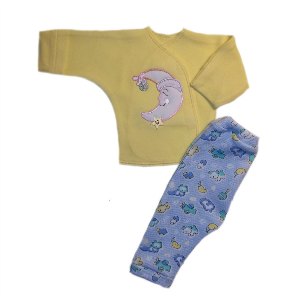Baby Boys' Smiling Moon Two Piece Clothing Set 4 Sizes ...