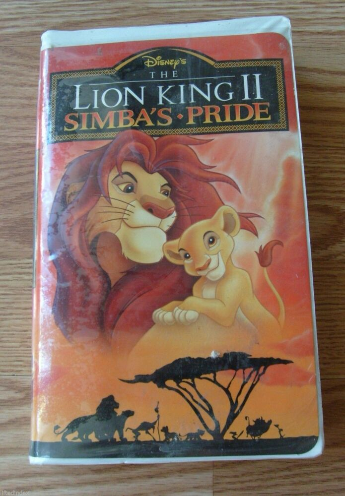 walt disney classic the lion king ii 2 simba u0026 39 s pride vhs