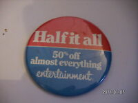 HALF IT ALL PICTURE BADGE