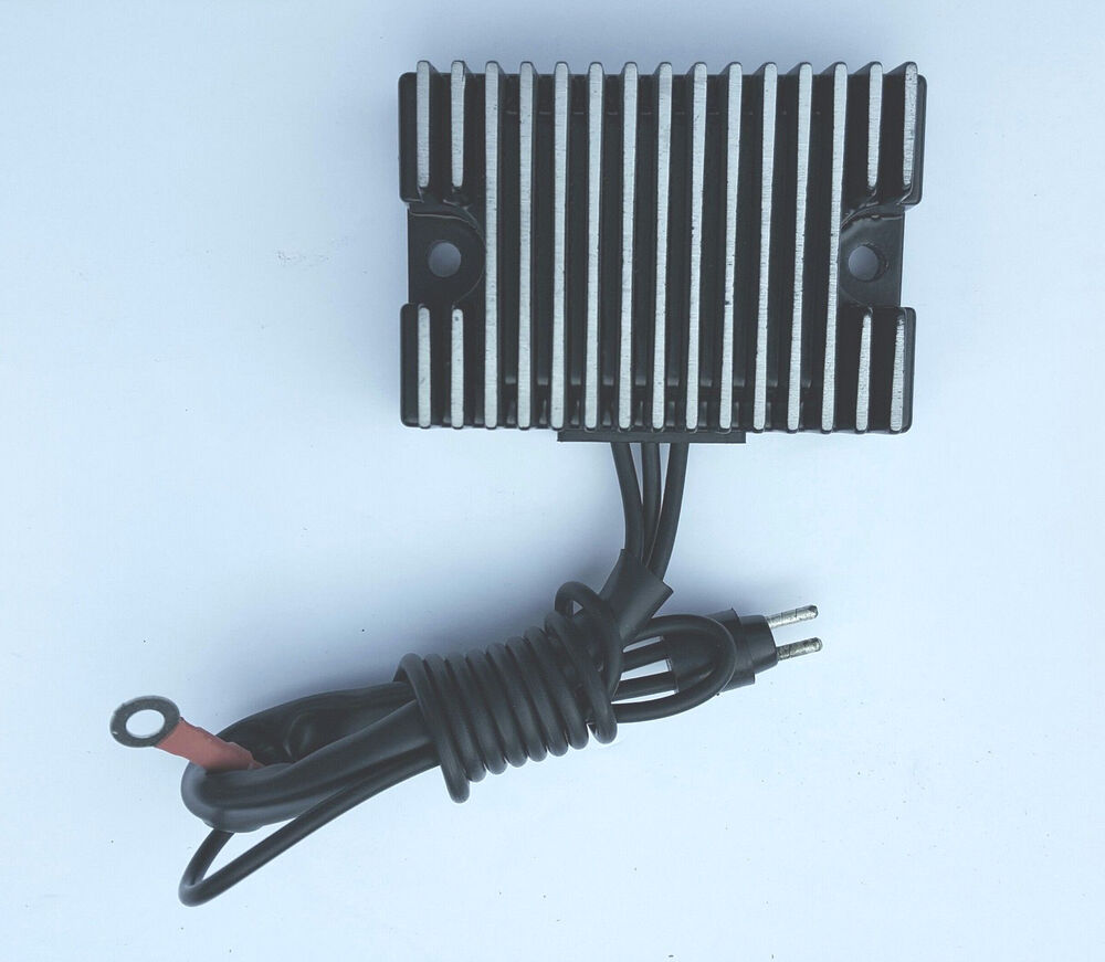 voltage regulator rectifier for harley davidson repl 74523. Black Bedroom Furniture Sets. Home Design Ideas