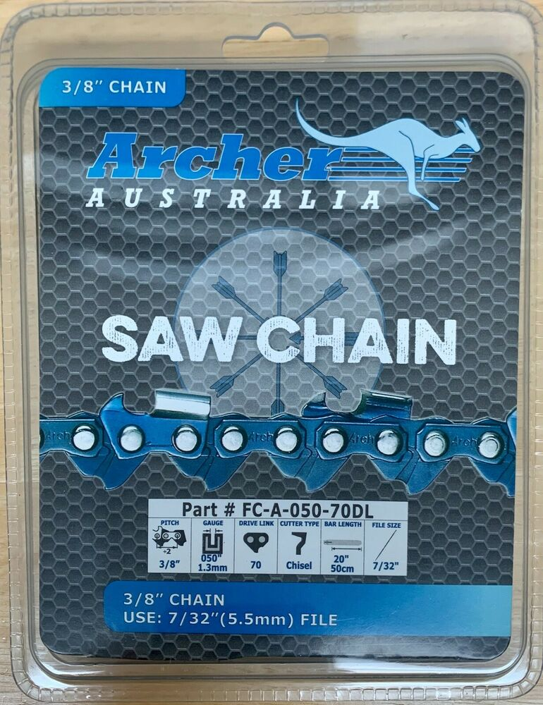 3 8 3 8 Indicator : Quot chainsaw saw chain blade full chisel mcculloch