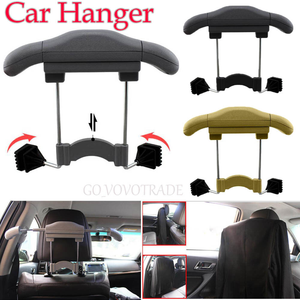 high quality car seat hanger holder organizer coat hanger clothes suits holder ebay. Black Bedroom Furniture Sets. Home Design Ideas
