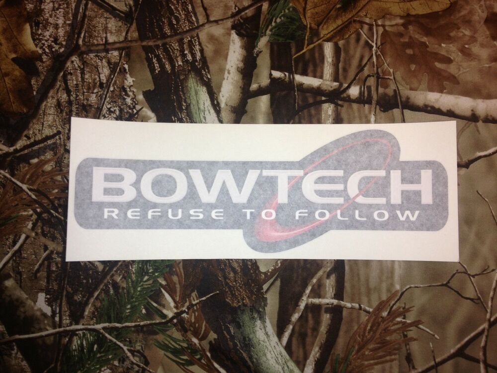 Refuse To Follow BOWTECH Bow  Bows Vinyl Decal Archery - Bowtech custom vinyl decals for trucks