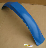 Bultaco Pursang Frontera Mk12 FRONT Mudguard Motocross DARKER BLUE 2nd Model