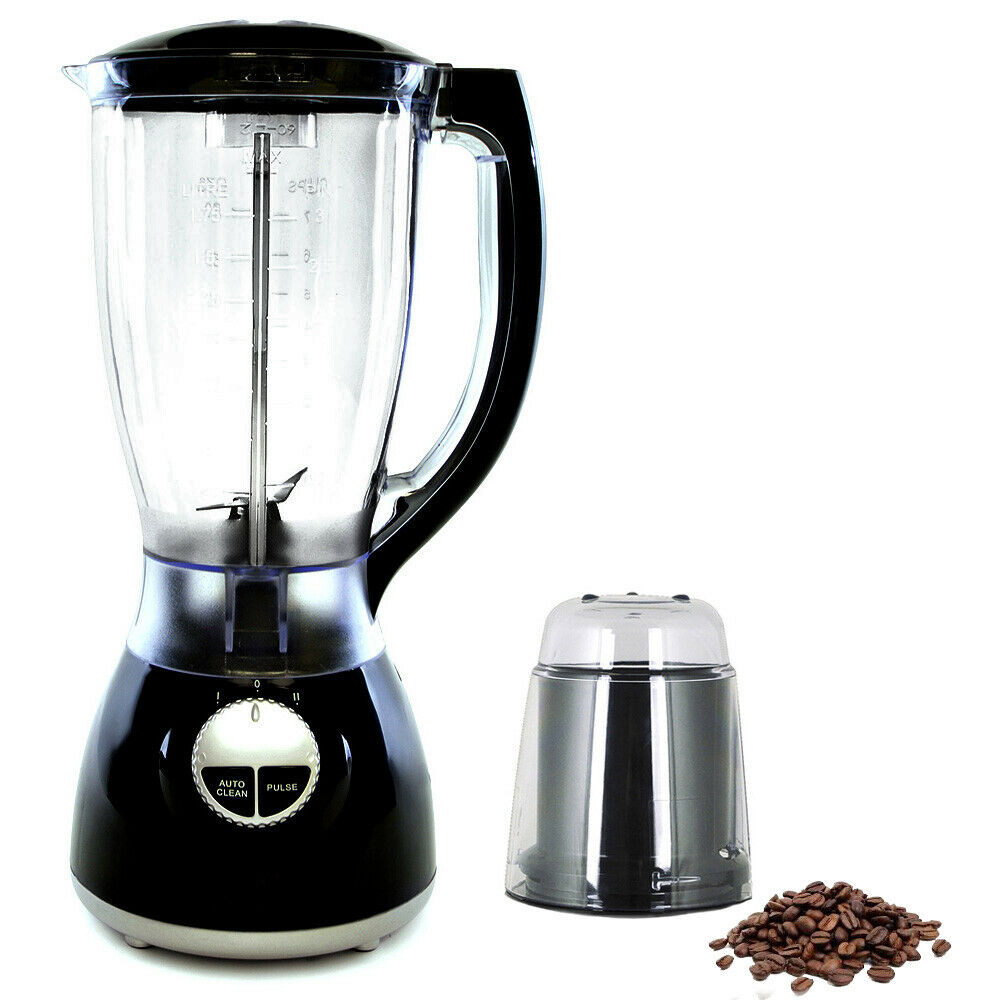 500w black multi blender food processor juicer smoothie maker free grinder ebay. Black Bedroom Furniture Sets. Home Design Ideas
