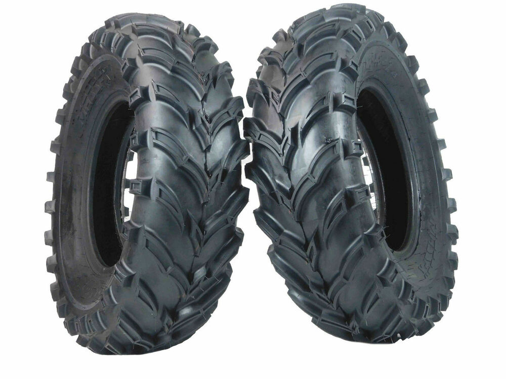 Four Wheeler Tyres : New ply massfx front tire set atv tires