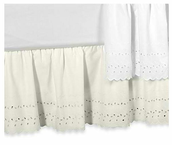 Twin Size Bed Skirts & Dust Ruffles: Tie together your bedroom décor with an elegant bed skirt.