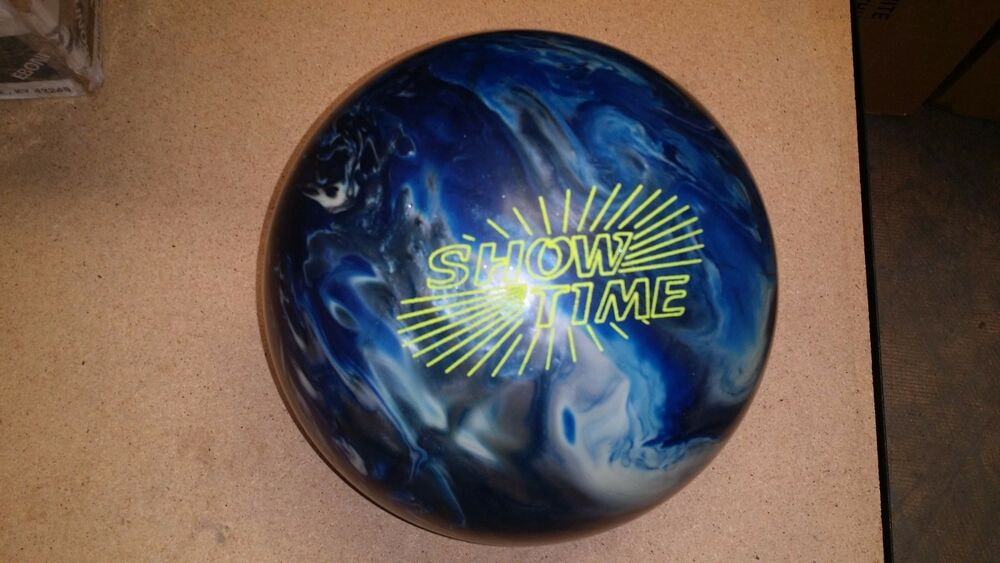 Ebonite showtime sanded new bowling ball rare