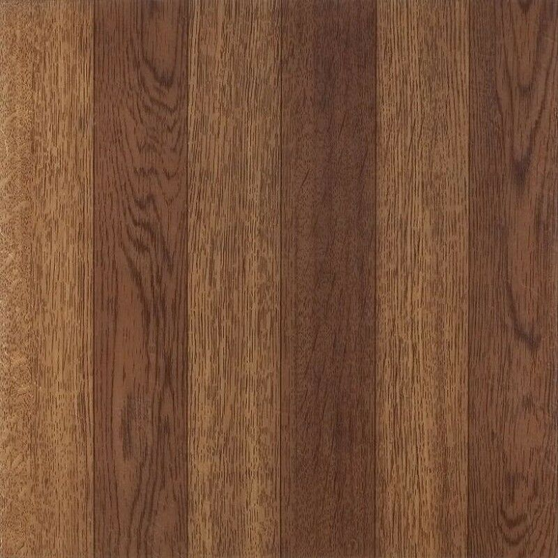 Light Oak Plank Wood Self Stick Adhesive Vinyl Floor Tiles: Achim Tivoli Medium Oak PlankLook 12X12 Self Adhesive