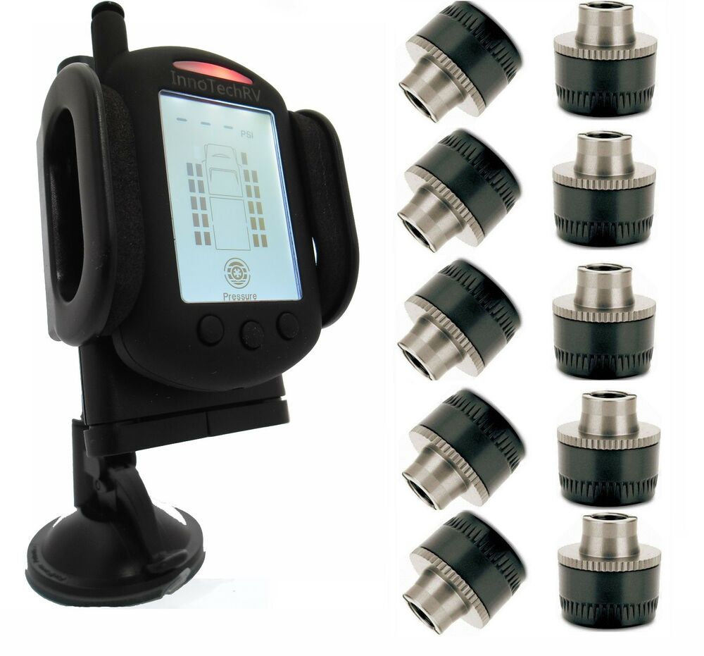 Tire Pressure Monitoring System For Truck Rv 10 Wheels