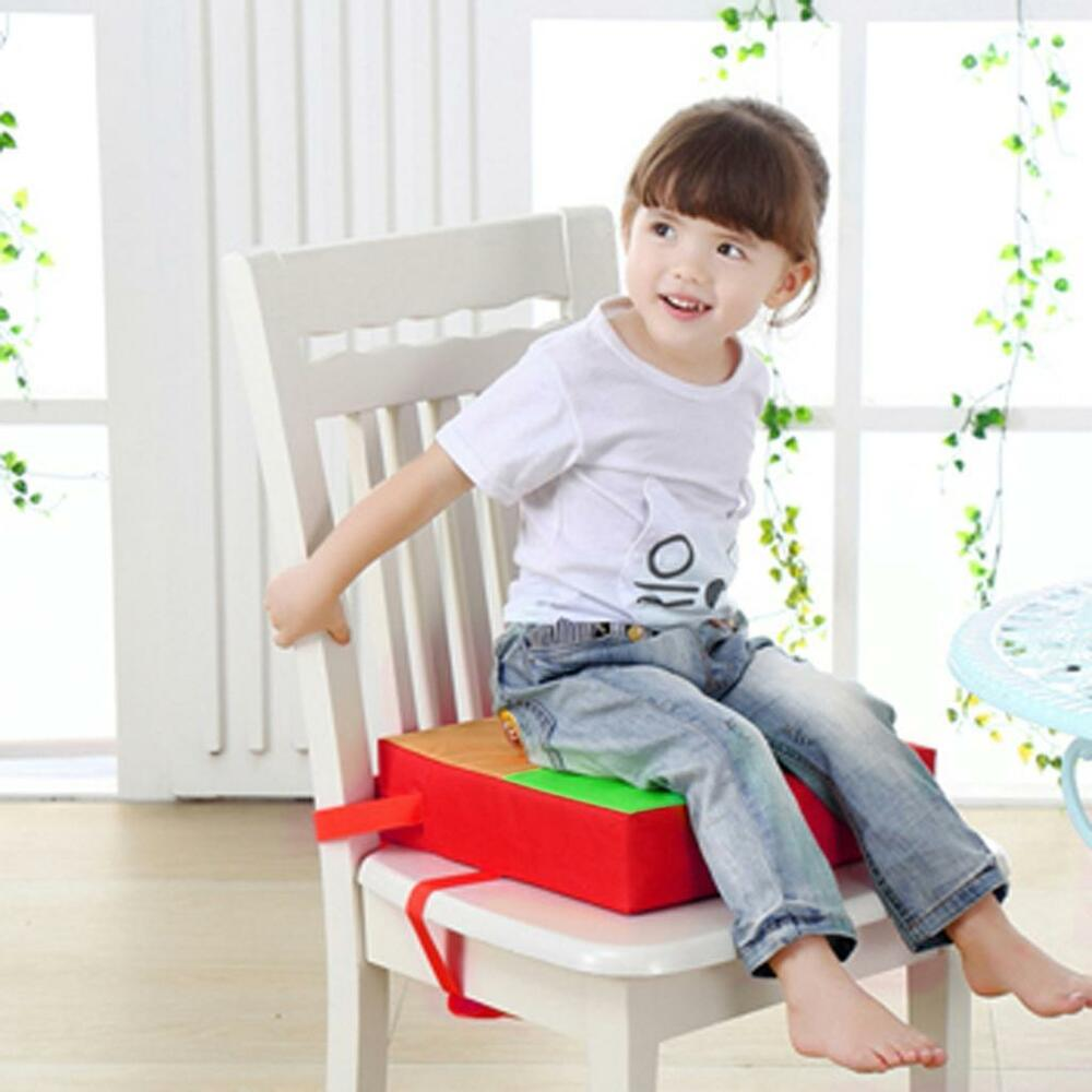 baby kids portable chair booster seat pad high chair cushion soft seat cover ebay. Black Bedroom Furniture Sets. Home Design Ideas