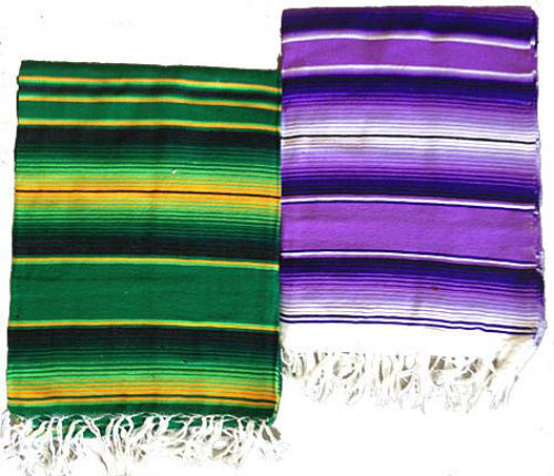 mexican colorful striped saltillo serape blanket fiesta hot rod seat cover 60x84 ebay. Black Bedroom Furniture Sets. Home Design Ideas