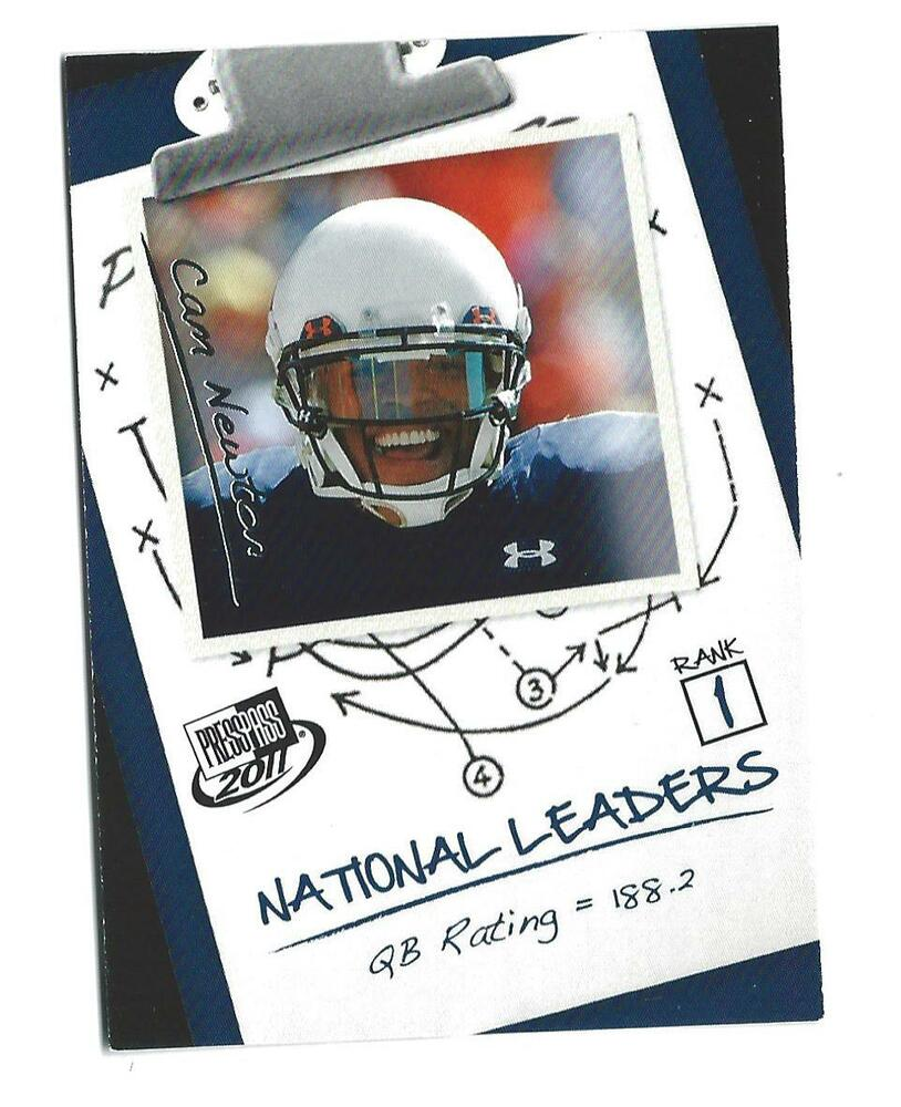 2011 Press Pass #60 Cam Newton Rookie Panthers Auburn