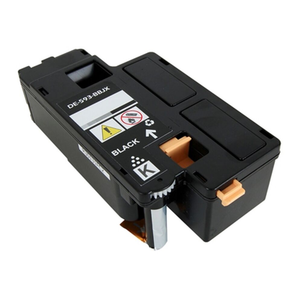 dell e525w black toner cartridge 593 bbjx h3m8p dpv4t 843964082046 ebay. Black Bedroom Furniture Sets. Home Design Ideas