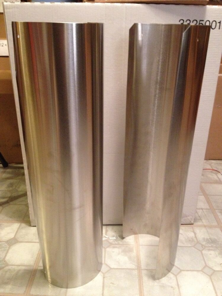 Stainless Steel Stove Pipe Heat Shield Ebay