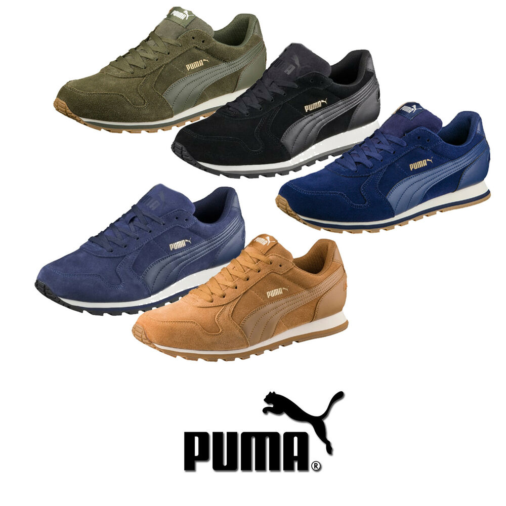 puma st runner sd herren sneaker turnschuhe schuhe 41 42 43 44 45 46 47 359128 ebay. Black Bedroom Furniture Sets. Home Design Ideas
