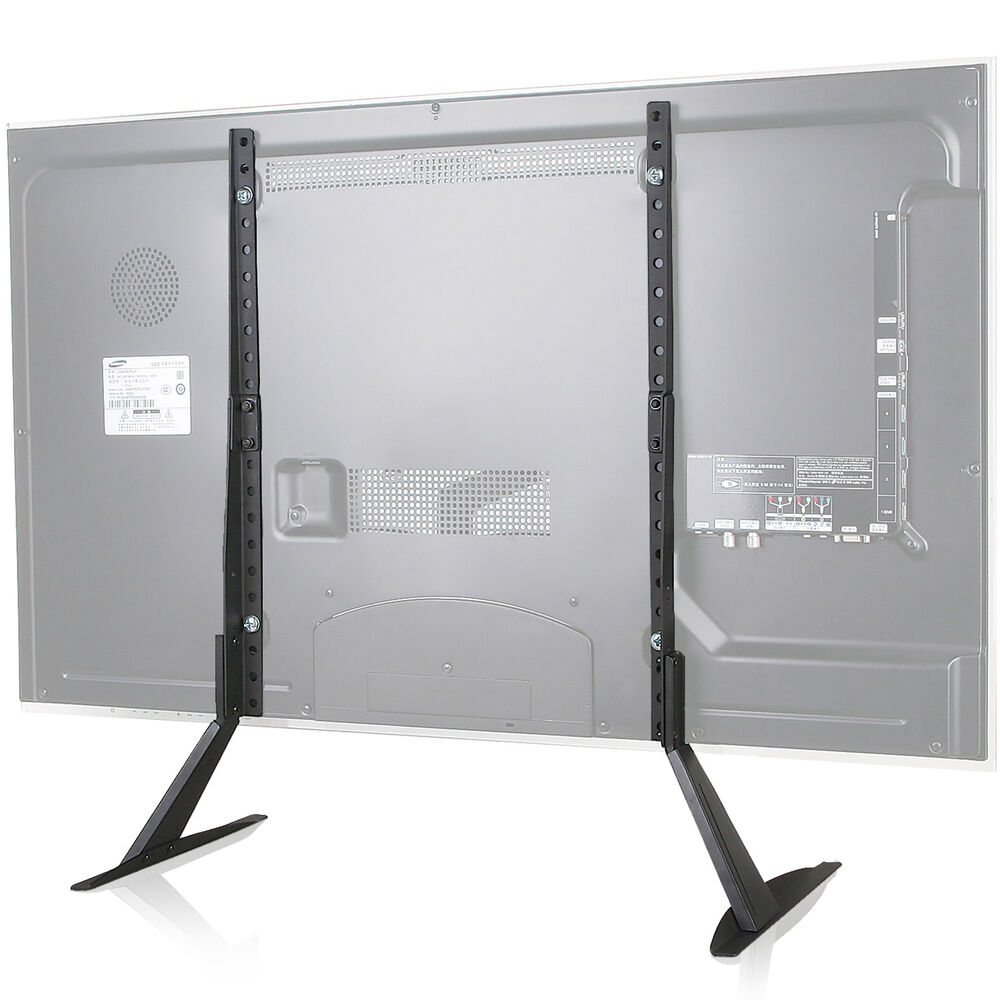 Wali Universal Lcd Flat Screen Tv Table Top Stand Base
