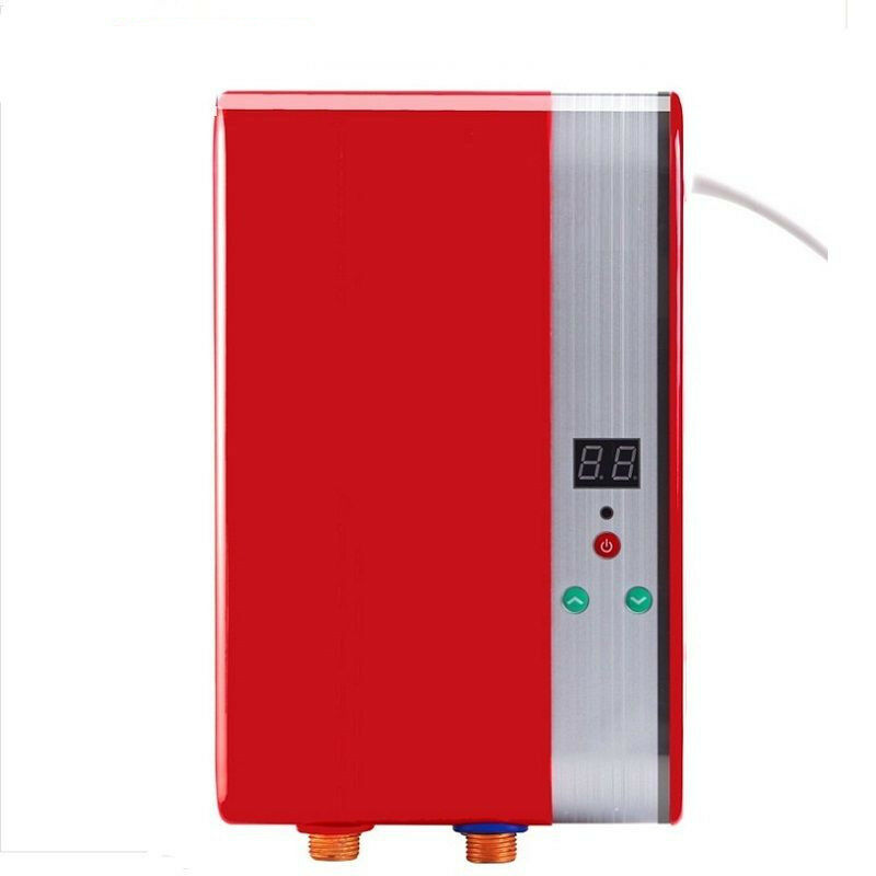 6000w electric shower tankless water heater instant electric hot water shower ebay - Shower water heater ...