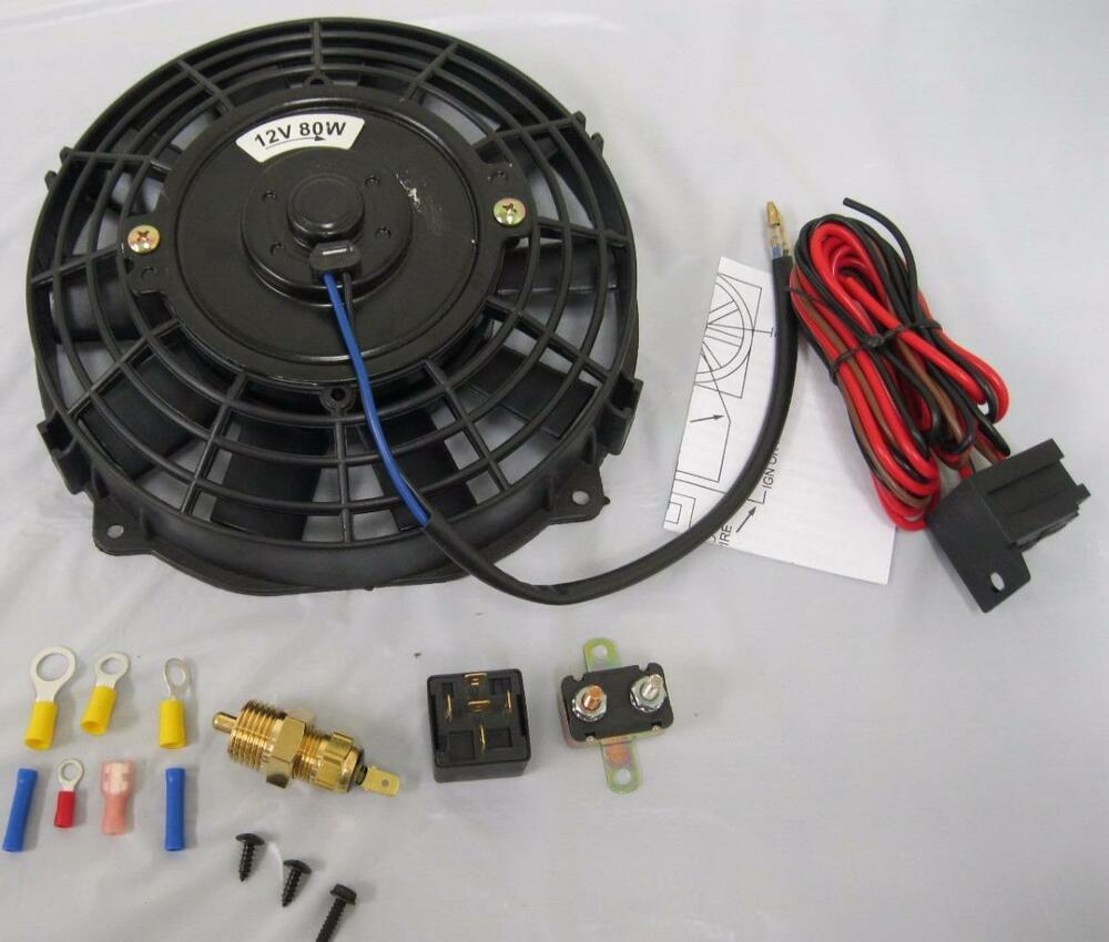 Automobile Electric Fan Wiring Diagram