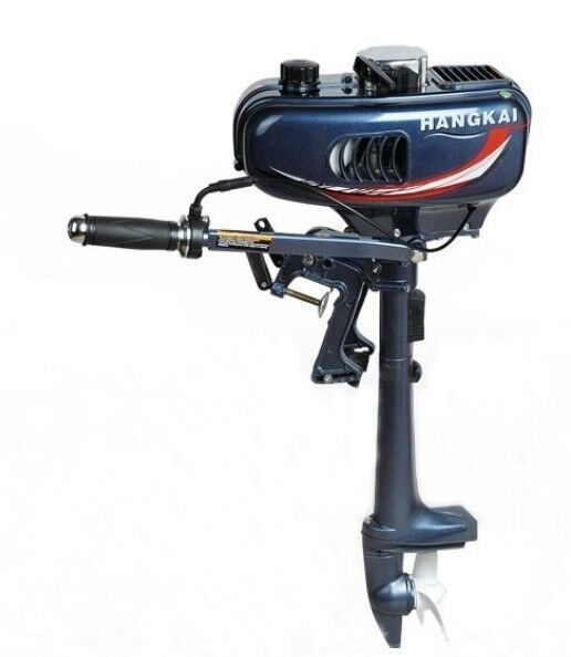 New portable outboard motor boat engine 3 5hp 2 stroke for New outboard boat motors