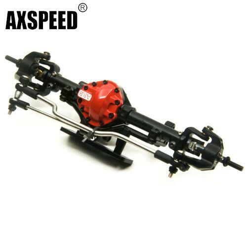 arb edition alloy front axle red for 1 10 scale rc crawler d90 axial scx10 rc4wd ebay. Black Bedroom Furniture Sets. Home Design Ideas