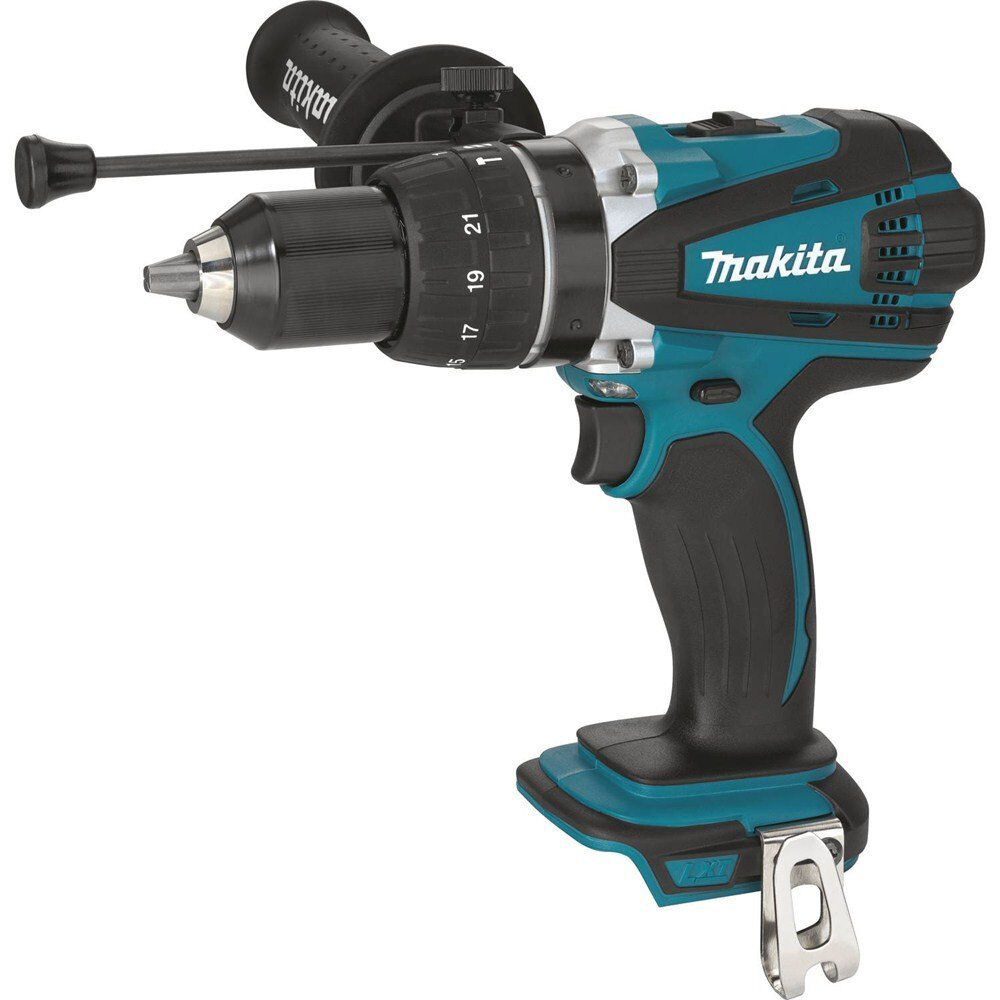 makita xph03z 18 volt lxt cordless 1 2 inch hammer driver. Black Bedroom Furniture Sets. Home Design Ideas