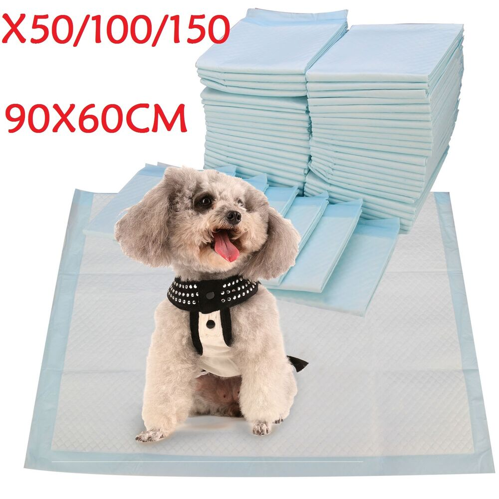 90x60cm Extra Large Training Trainer Train Puppy Pads Dog