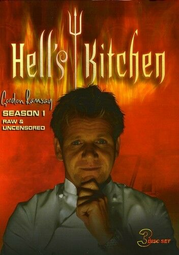Hell39;s Kitchen: Season 1 [3 Discs] 2008, DVD New  eBay