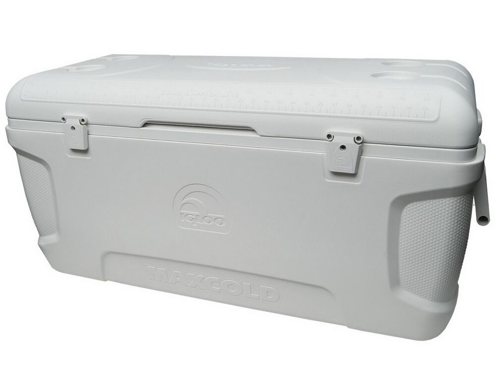 new large igloo cooler 150 qt quart max cold ice chest