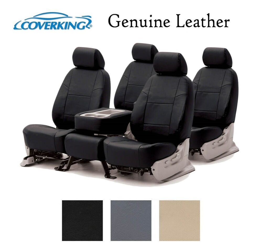 Coverking Custom Seat Covers Genuine Leather Front And