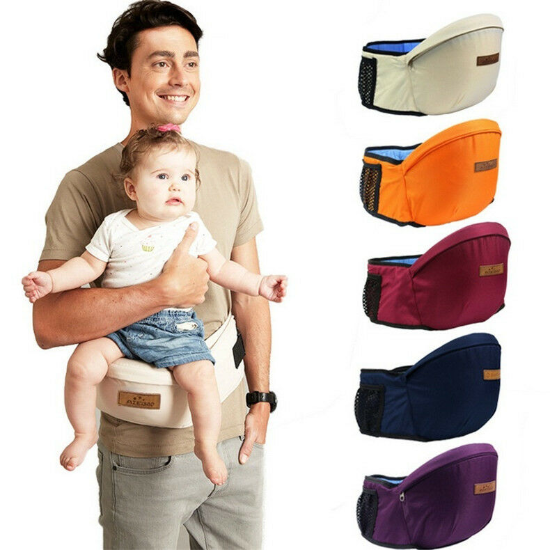 Baby Infant Toddler Child Carrier Seat Waist Belt Hip Seat
