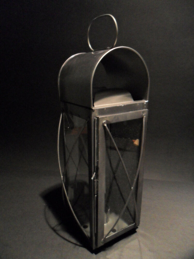 Tin Wall Sconce Candle Holder : Antique Style Colonial Tin Outdoor Wall Lantern Lamp Candle Holder Sconce eBay
