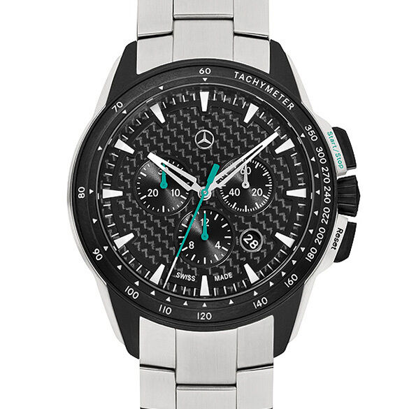 motorsport chrono silber schwarz armbanduhr chronograph. Black Bedroom Furniture Sets. Home Design Ideas