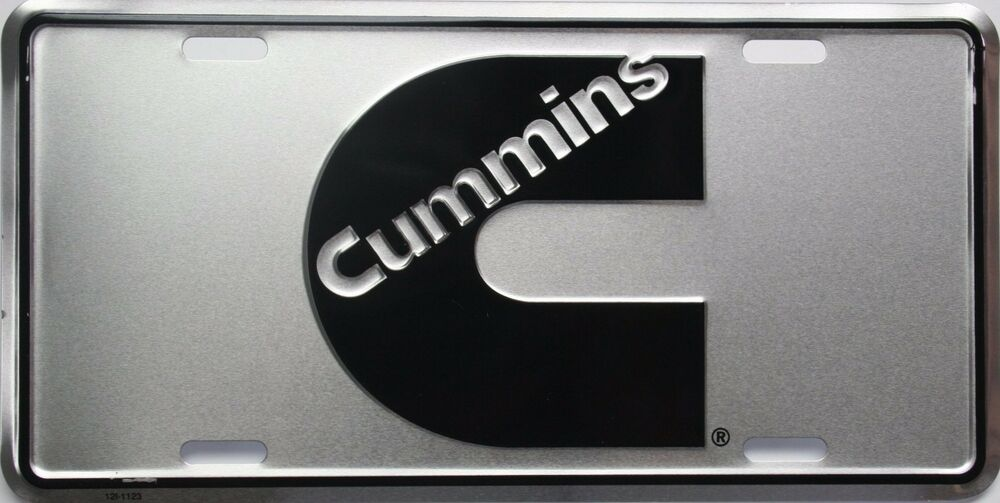 dodge cummins license plate emblem tag ram truck emblem dually logo diesel gear