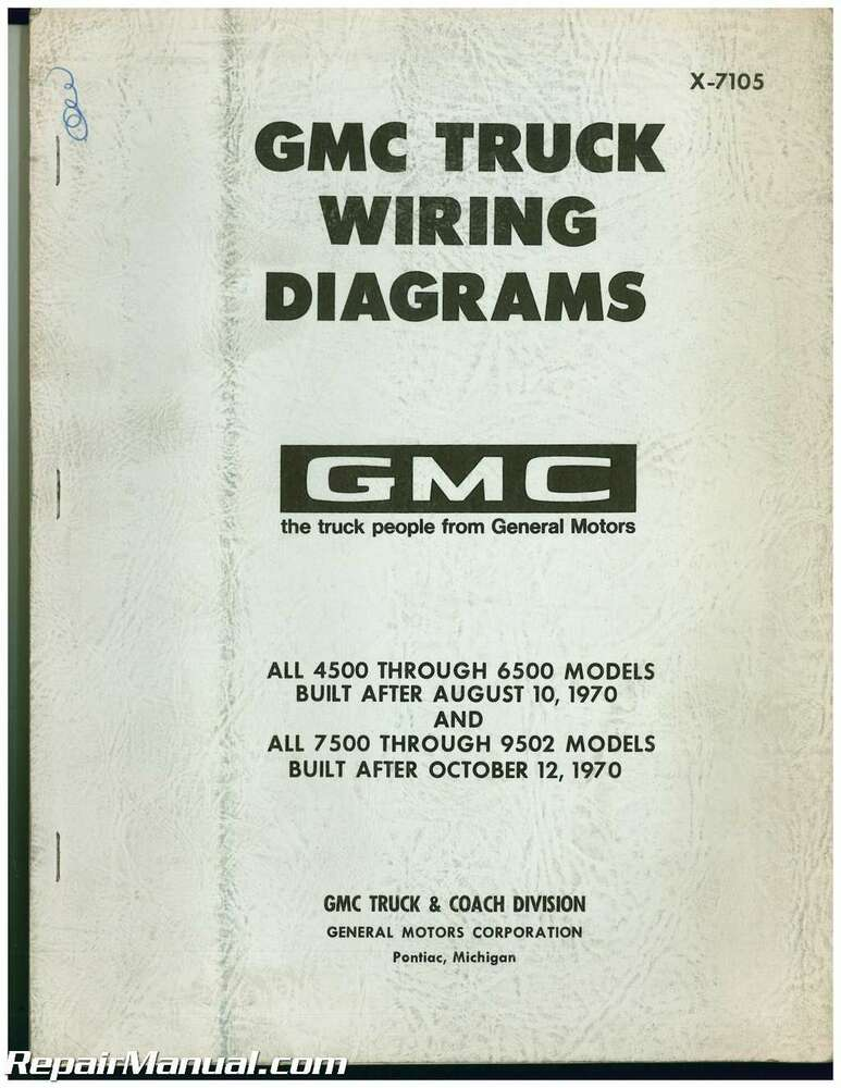 Used 1971 Gmc Truck Wiring Diagrams Ebayrhebay: Gmc General Trucks Wiring Diagram At Gmaili.net