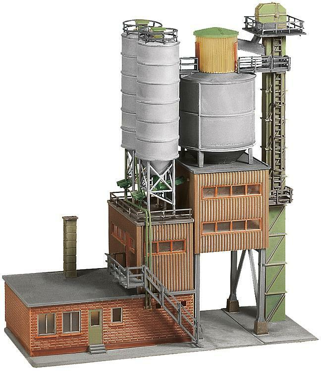 NEW ! HO Scale Faller CEMENT WORKS / CONCRETE PLANT